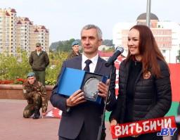 Витебск присоединился к республиканскому автопробегу «Символ единства»