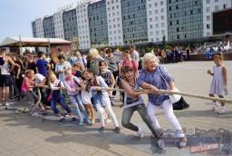 Жители Витебска приняли участие в празднике «Октябрьский район собирает друзей»