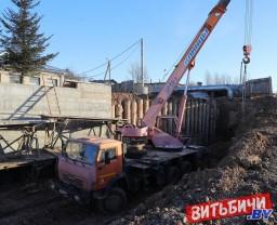 В Витебске продолжается строительство магистрали, которая свяжет микрорайон Билево с проспектом Строителей