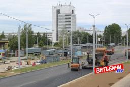 В Витебске завершается строительство дороги в Билево: когда ждать открытия