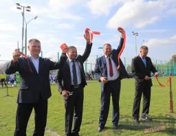 В Витебске открыли новое тренировочное поле с натуральным покрытием футбольного клуба «Витебск»