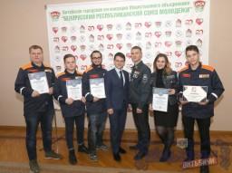 Итоги работы студенческих отрядов Витебска подводили на торжественной церемонии в горисполкоме