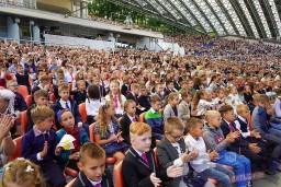 Проект, посвященный Дню знаний, собрал в Летнем амфитеатре учащихся школ и гимназий Витебска.