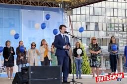 Праздник газеты «Витьбичи» «Идем по жизни вместе» прошел на площади Победы в Витебске
