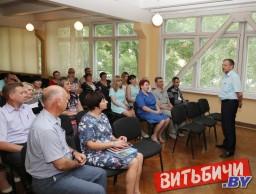 Единый день информирования и выездной приём граждан провел председатель горисполкома Виктор Николайкин на филиале «Завод сборного железобетона № 3 г. Витебска»