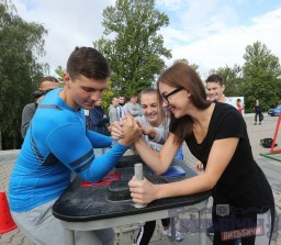 Акцент на молодежи. Выставка-ярмарка «За здоровый образ жизни-2018» в Витебске