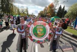 28 сентября в Верхнедвинске состоялся областной фестиваль – ярмарка тружеников села «Дажынкі»