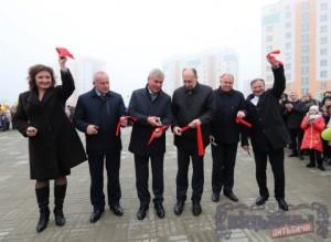 Открытие нового детскогосада №113 «Василек» в Витебске