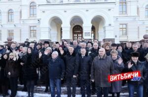 Делегаты VI Всебелорусского народного собрания, избранные от Витебской области, отправились в Минск