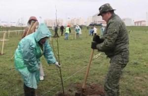 25 апреля Витебск присоединился к республиканскому субботнику
