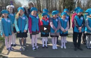 В витебской школе № 28 провели акцию «Дерево мира», посвященную международному дню Матери-Земли