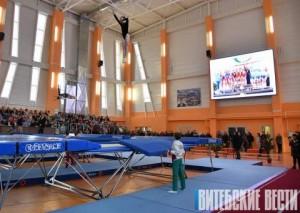 В Витебске 28 марта торжественно открыли Центр по прыжкам на батуте.