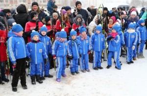 Культурно-спортивный праздник «Зима на Заречной улице» в Витебске