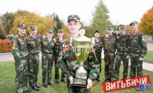 Республиканский смотр-конкурс строевой подготовки в Витебском кадетском училище