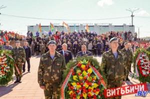 В Витебске масштабно отпраздновали День Победы