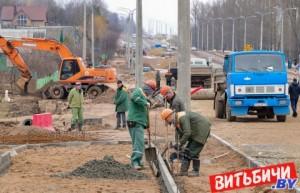 В Витебске продолжается реконструкция улицы Гагарина: что уже сделано и когда работы будут завершены