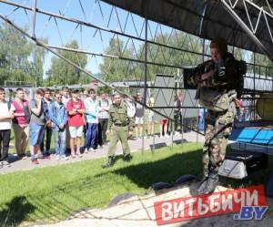 Летний спортивно-патриотический лагерь открылся в 103-й воздушно-десантной бригаде