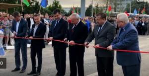 В Витебске открыли новую магистраль, которая связала проспект Строителей с микрорайоном «Билево»