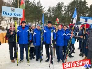 Около 2 тысяч участников собрала «Витебская лыжня 2021»