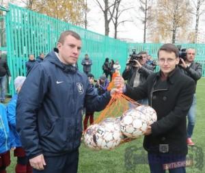 В Витебске открылась новая футбольная площадка с искусственным покрытием